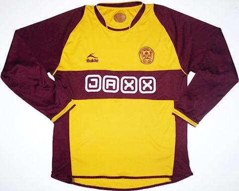 Motherwell Mens LS Home Shirt 2008/09 Image