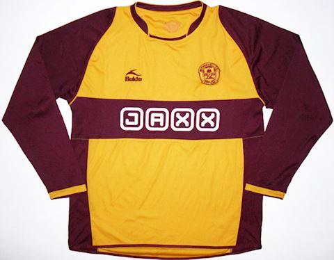 Motherwell Mens LS Home Shirt 2008/09 Image 2