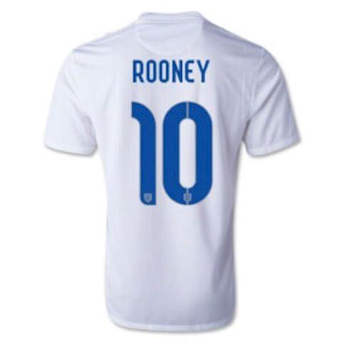 Nike England Kids SS Home Shirt 2014 Image 3