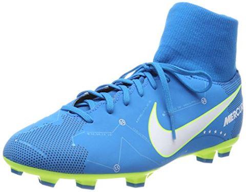 Nike Jr. Mercurial Victory VI Dynamic Fit Neymar Older Kids'Firm-Ground Football Boot - Blue Orbit Image