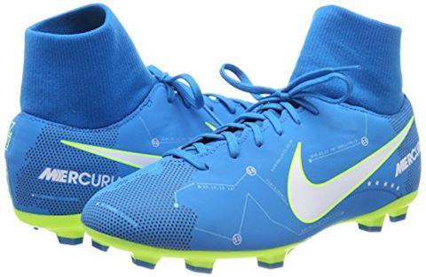 Nike Jr. Mercurial Victory VI Dynamic Fit Neymar Older Kids'Firm-Ground Football Boot - Blue Orbit Image 12