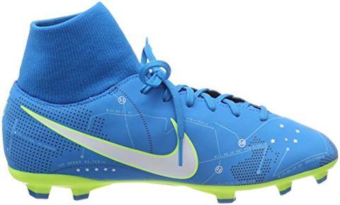 Nike Jr. Mercurial Victory VI Dynamic Fit Neymar Older Kids'Firm-Ground Football Boot - Blue Orbit Image 13