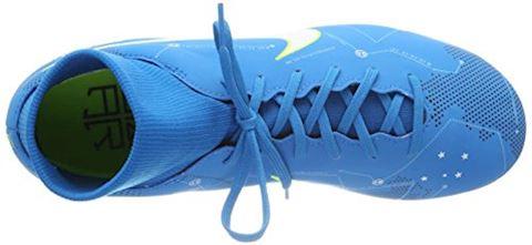 Nike Jr. Mercurial Victory VI Dynamic Fit Neymar Older Kids'Firm-Ground Football Boot - Blue Orbit Image 14