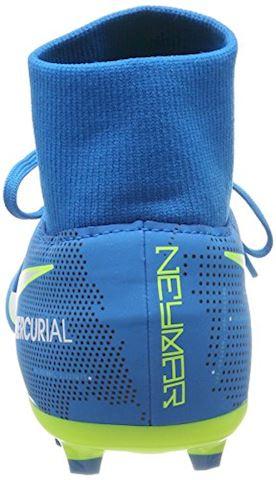 Nike Jr. Mercurial Victory VI Dynamic Fit Neymar Older Kids'Firm-Ground Football Boot - Blue Orbit Image 2
