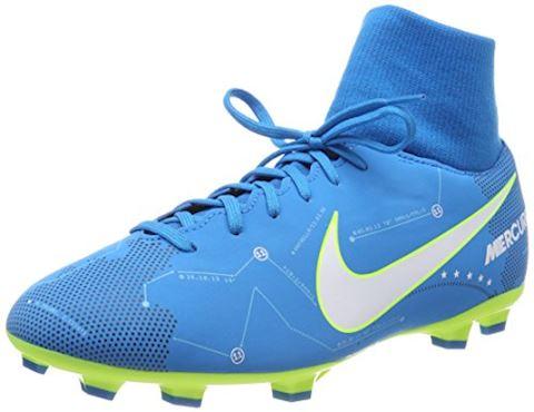 Nike Jr. Mercurial Victory VI Dynamic Fit Neymar Older Kids'Firm-Ground Football Boot - Blue Orbit Image 8