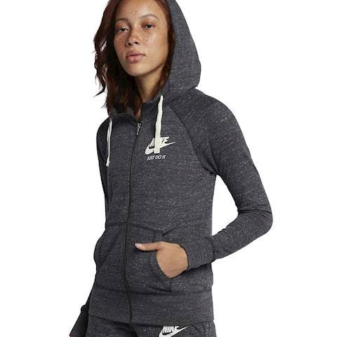 Nike Sportswear Gym Vintage Women's Full-Zip Hoodie - Black Image