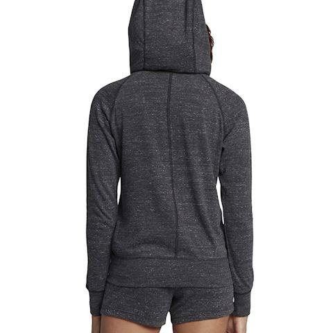 Nike Sportswear Gym Vintage Women's Full-Zip Hoodie - Black Image 2