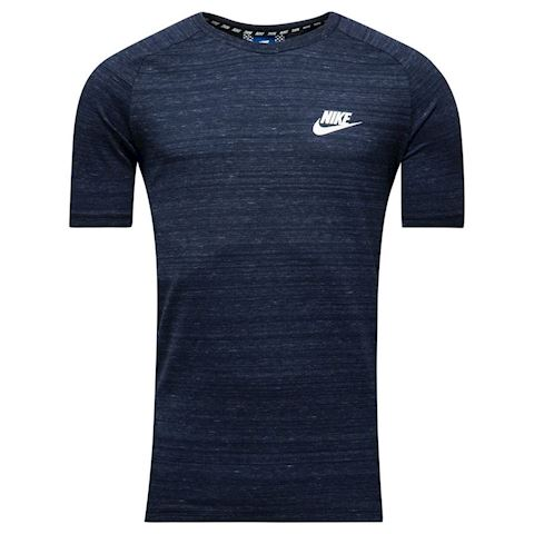 Nike T-Shirt NSW Advance 15 Knit - Obsidian/Heather/White