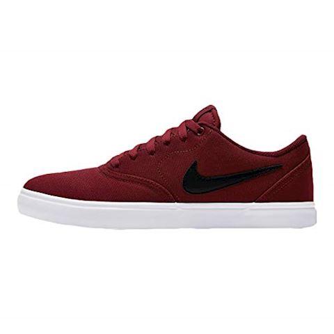 Nike SB Check Solarsoft Canvas Men's Skateboarding Shoe - Red Image