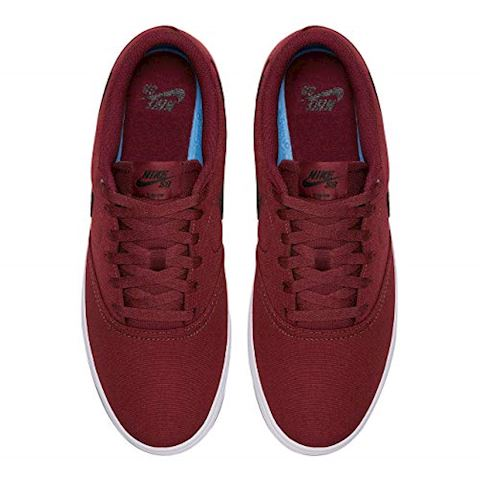 Nike SB Check Solarsoft Canvas Men's Skateboarding Shoe - Red Image 2
