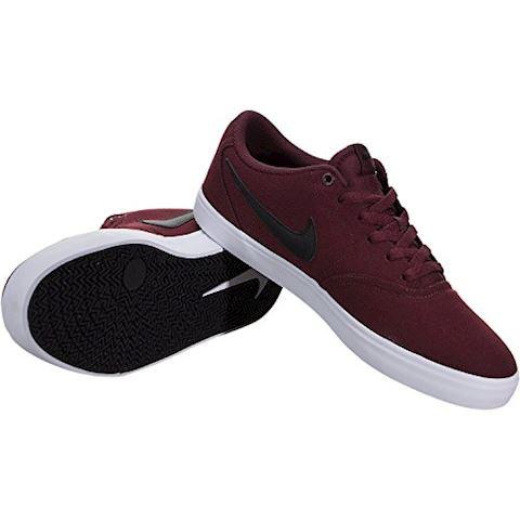 Nike SB Check Solarsoft Canvas Men's Skateboarding Shoe - Red Image 7