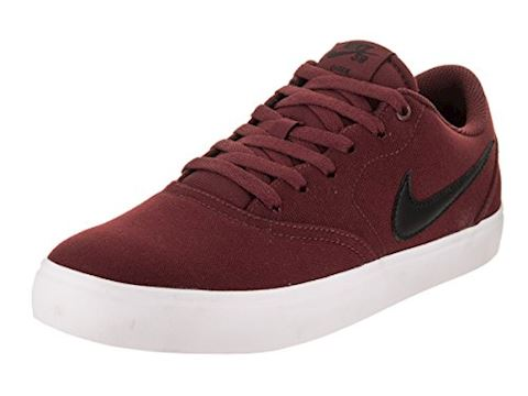 Nike SB Check Solarsoft Canvas Men's Skateboarding Shoe - Red Image 10