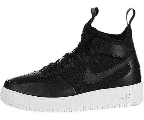 Nike Air Force 1 UltraForce Mid Women's Shoe - Black Image
