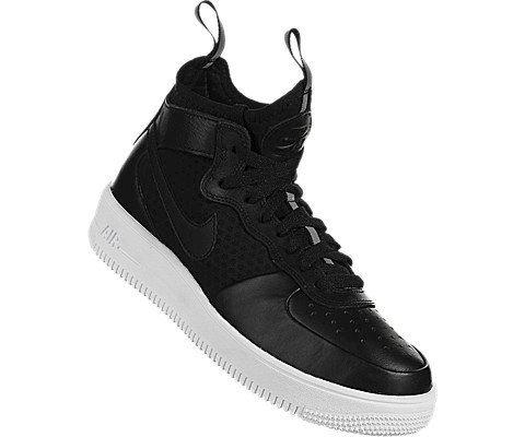 Nike Air Force 1 UltraForce Mid Women's Shoe - Black Image 5