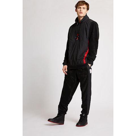 new product 01a03 289f3 Nike Air Jordan Wings of Flight Quarter Zip Jacket Black Image