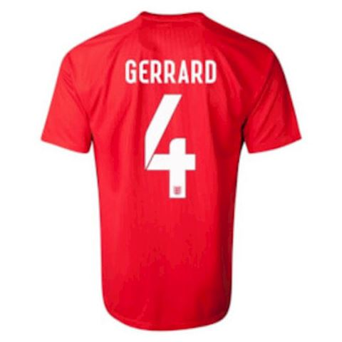 Nike England Kids SS Away Shirt 2014 Image 2