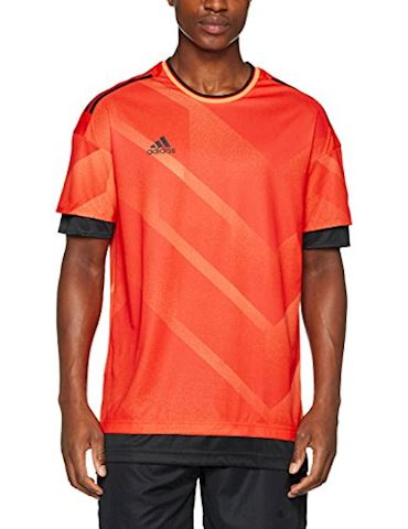 adidas Training T-Shirt Tango Pyro Storm - Semi Solar Orange/Black Image