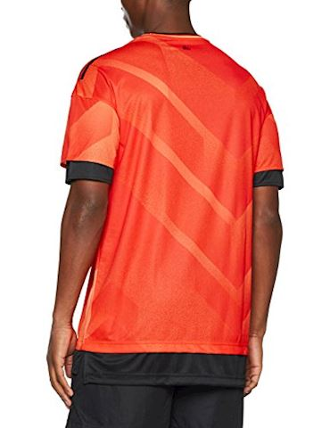 adidas Training T-Shirt Tango Pyro Storm - Semi Solar Orange/Black Image 2