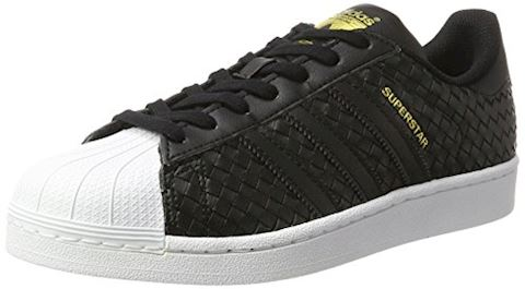 adidas Superstar Woven Leather - Men Shoes Image
