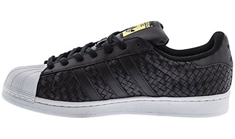 adidas Superstar Woven Leather - Men Shoes Image 6