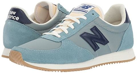 New Balance  WL220  women's Shoes (Trainers) in blue Image 6