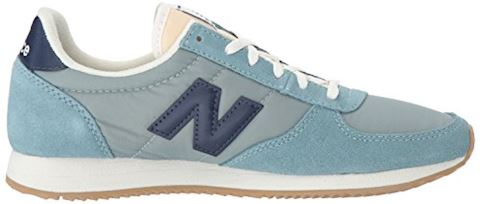 New Balance  WL220  women's Shoes (Trainers) in blue Image 7