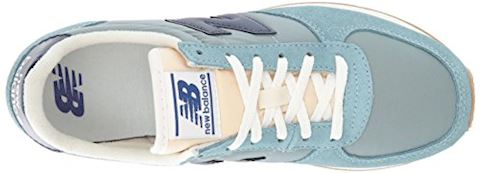 New Balance  WL220  women's Shoes (Trainers) in blue Image 8