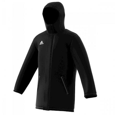 adidas Core 15 Stadium Jacket Black White Image