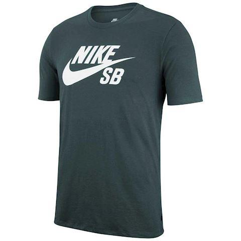 Nike SB Logo Men's T-Shirt - Green Image