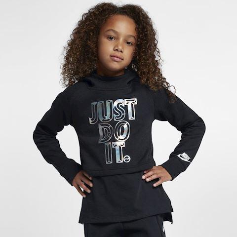 b17f6b47 Nike Sportswear Older Kids' (Girls') JDI Cropped Hoodie - Black Image
