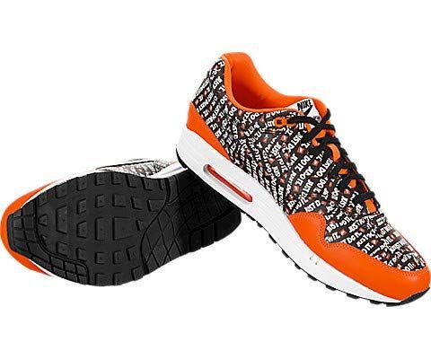 Nike Air Max 1 Premium Men's Shoe - Black Image 9