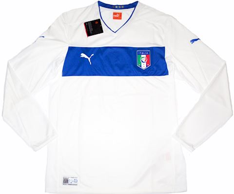 Puma Italy Mens LS Away Shirt 2012 Image
