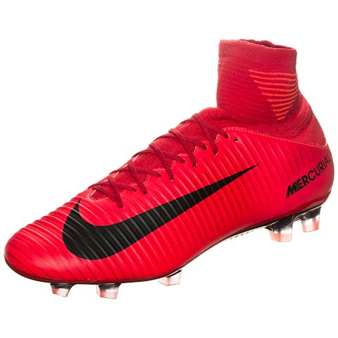 Nike Mercurial Veloce III Dynamic Fit Firm-Ground Football Boot - Red Image
