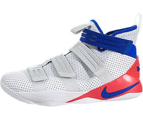 Nike LeBron Soldier XI SFG Basketball Shoe - White Image