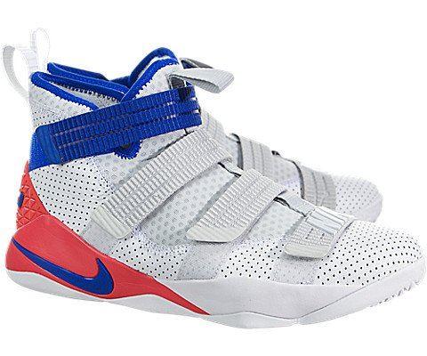 Nike LeBron Soldier XI SFG Basketball Shoe - White Image 2