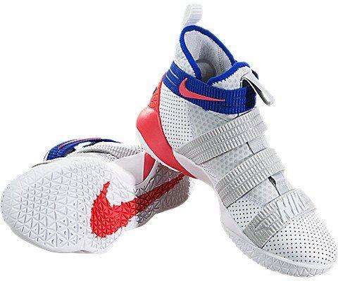 Nike LeBron Soldier XI SFG Basketball Shoe - White Image 3