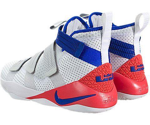 Nike LeBron Soldier XI SFG Basketball Shoe - White Image 4