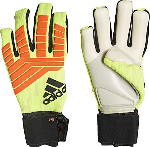 online store a0499 4b22f adidas Goalkeeper Gloves Predator Pro Energy Mode - Solar Yellow Solar Red  Image