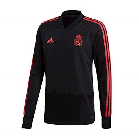 adidas Real Madrid Training Shirt UCL - Black/Real Coral Image 3