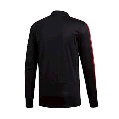 adidas Real Madrid Training Shirt UCL - Black/Real Coral Image 4