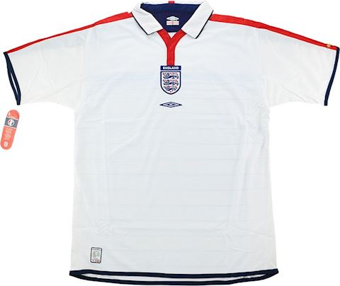 Umbro England Mens LS Goalkeeper Home Shirt 2003 Image