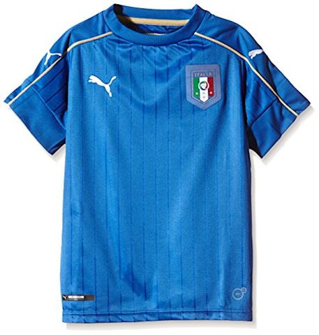 Puma Italy Kids SS Home Shirt 2016 Image