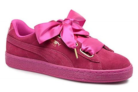 Puma Suede Heart Satin Women's Trainers Image