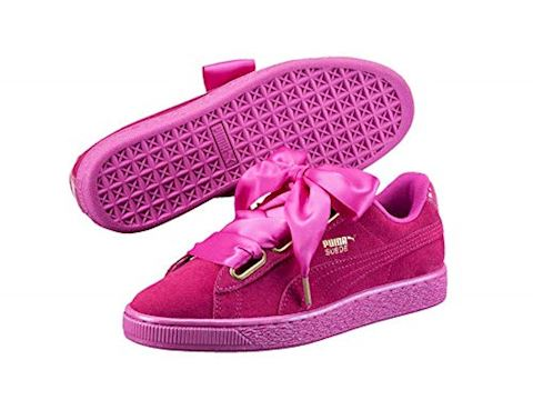 Puma Suede Heart Satin Women's Trainers Image 3