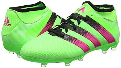 adidas ACE 16.2 Primemesh FG Solar Green Shock Pink Core Black Image 5