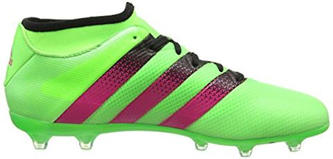 adidas ACE 16.2 Primemesh FG Solar Green Shock Pink Core Black Image 6