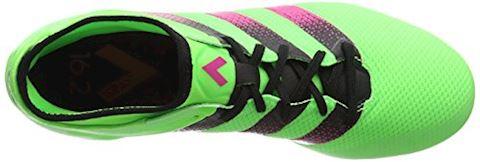 adidas ACE 16.2 Primemesh FG Solar Green Shock Pink Core Black Image 7