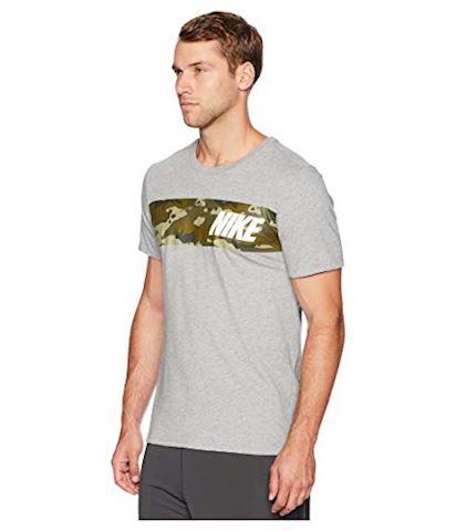 Nike Dri-FIT Men's Training T-Shirt - Grey Image 3