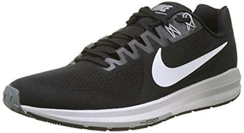 Nike Air Zoom Structure 21 Men's Running Shoe - Black Image