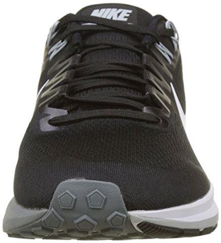 Nike Air Zoom Structure 21 Men's Running Shoe - Black Image 4